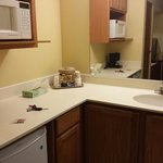 #118 sink/microwave/ fridge area