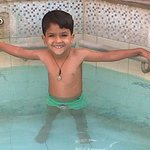 MY HERO in Swiming Pool