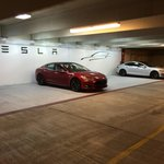 Tesla Charging Spaces within walking distance of Westin Domain