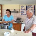 Suelah and George taught us to make Moussaka!