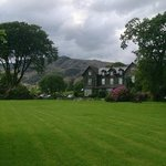 Hotel with Old Man of Coniston behind