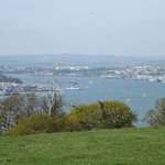 Another view from car park, Tamar Bridge in the background