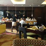 Buffet at Executive Club lounge