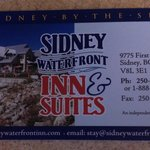 Photo de Sidney Waterfront Inn & Suites
