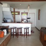 Downstairs section of our two bedroom villa.