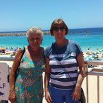 Great lady who is from the solypaz a staff member been there a long long time PAT with my wife X