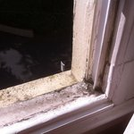 Nice clean UPVC windows....not!!
