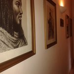 Paintings on the corridors