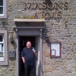 Dad at Masons Arms