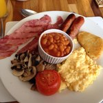 Full English breakfast - so good!