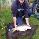 Carp lake average size of carp 11 1/2 lb