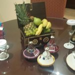 Welcome amenities