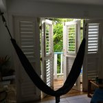 Hammock in our room