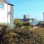 Carrickfergus Castle from the Premier Inn