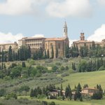 View on Pienza from Bonello