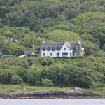 View of Corrie House from our boat trip on the Jenny Wren