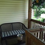 Sitting area of Private Deck