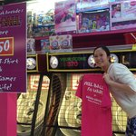 She won a T-Shirt and Free Games for Life!