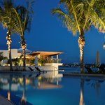 Stunning new infinity edge resort pool and 1609 Bar & Restaurant