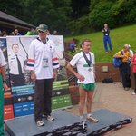 Patrick winning yet another European Medal for athletics