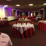 Updated banquet space which is customizable to suit every need.