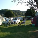 The camping section