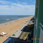 11th Floor balcony view of the boardwalk