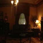 second parlor room