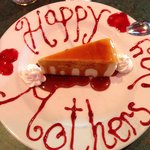 Mother's day at Boston Pizza