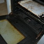 FILTHY oven! disgusting