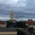 Balcony view of the UT Tower