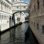 Bridge of Sighs just yards from hotel !!