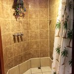 Shower in Hawaiian Room - HUGE