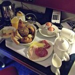 Fantastic room service breakfast
