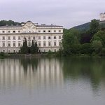 the Schloss form the other side of the lake