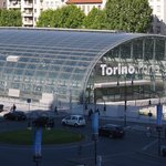 Porta Susa is very close, you can see it from the window
