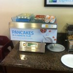 Cool automatic pancake machine. Kids love it.