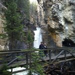Johnston Canyon Foto