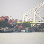 Hooghly River view - From Millennium Park