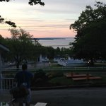 Sunrise from Mount Battie Motel.