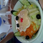 Smiley faced Salad