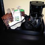 In-room coffee/tea maker