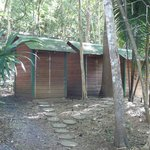 Bathroom at Chaa Creek's Macal River Camp