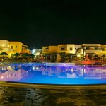 Mikri Poli pool at night