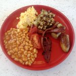 Great English Breakfast, way to go Chris!