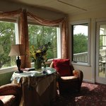 our enclosed sunroom