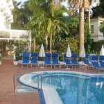 Hotel Caravel Pool Area