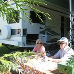 relaxed rv site