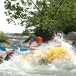 Me & my son white water rafting on the Ocoee River!