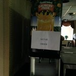 Juice machine out of order